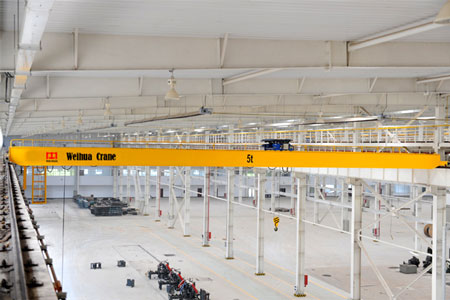 FEM/DIN Double Girder Bridge Crane with Hoist Trolley