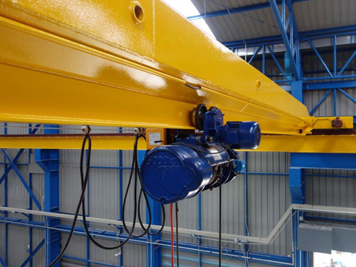 Electric-Single-Girder-Bridge-Crane