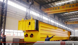 320t Bridge Crane for Casting Use