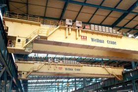 Plate Slab Crane for Continuous Casting Workshop