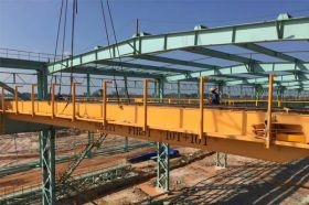 Bridge Crane Installation in Malaysia Steel Work