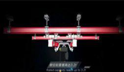 Flexible Suspension Crane 3D Show