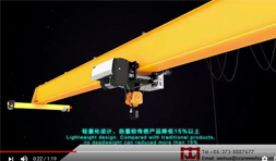 Single Beam Bridge Crane FEM DIN