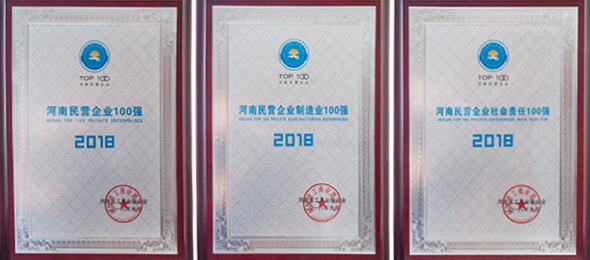 Weihua Group Ranked Top 100 Private Enterprises 2018