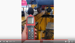 Load, Speed and Noise Test of 5t Electric Hoist