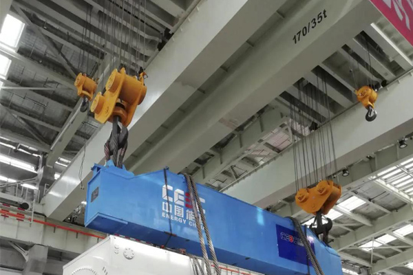 Bridge Crane 170t 80m for Stator Lifting at Power Plant