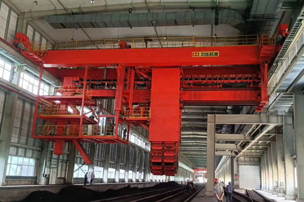 Coal Unloader Bridge Crane