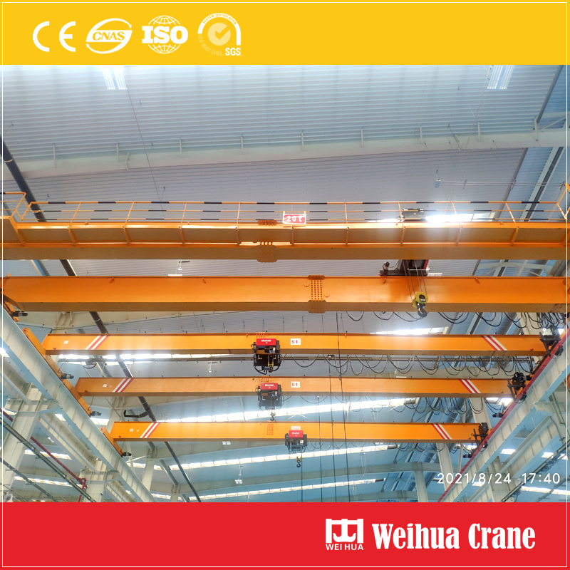 20t-5t-overhead-crane-installation-Mexico