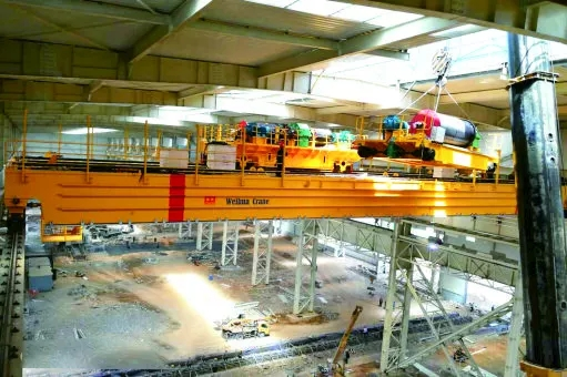 250T-forging-crane-trolley-installation