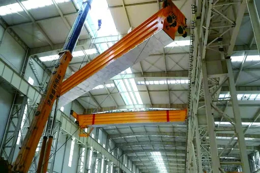 250t-forging-crane-beam-installation