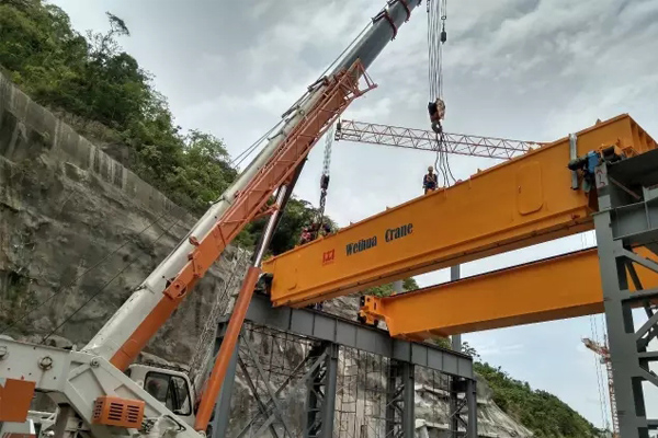 300t-bridge-crane-installation