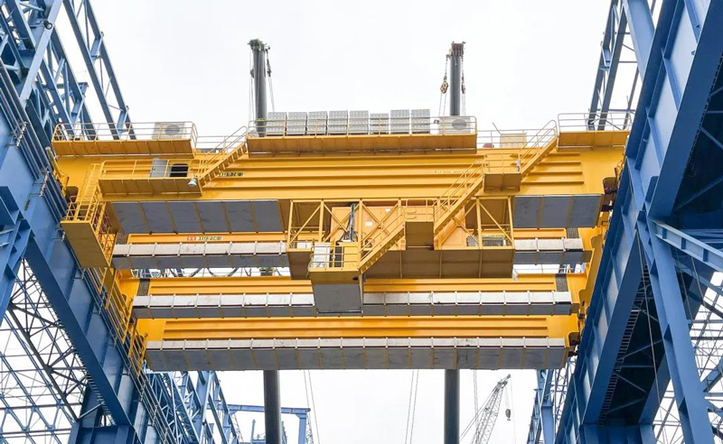 300t-overhead-crane-for-foundry-plant