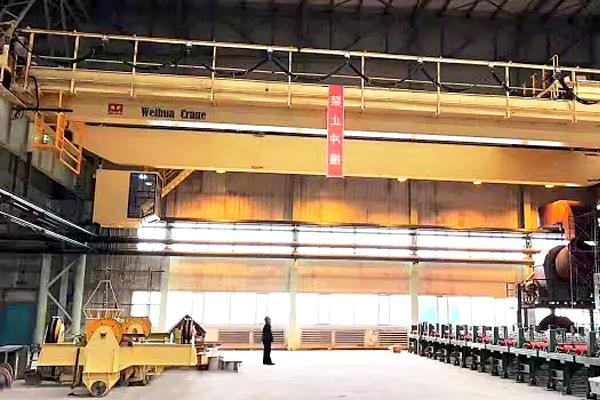 Bridge-crane-suction-beam