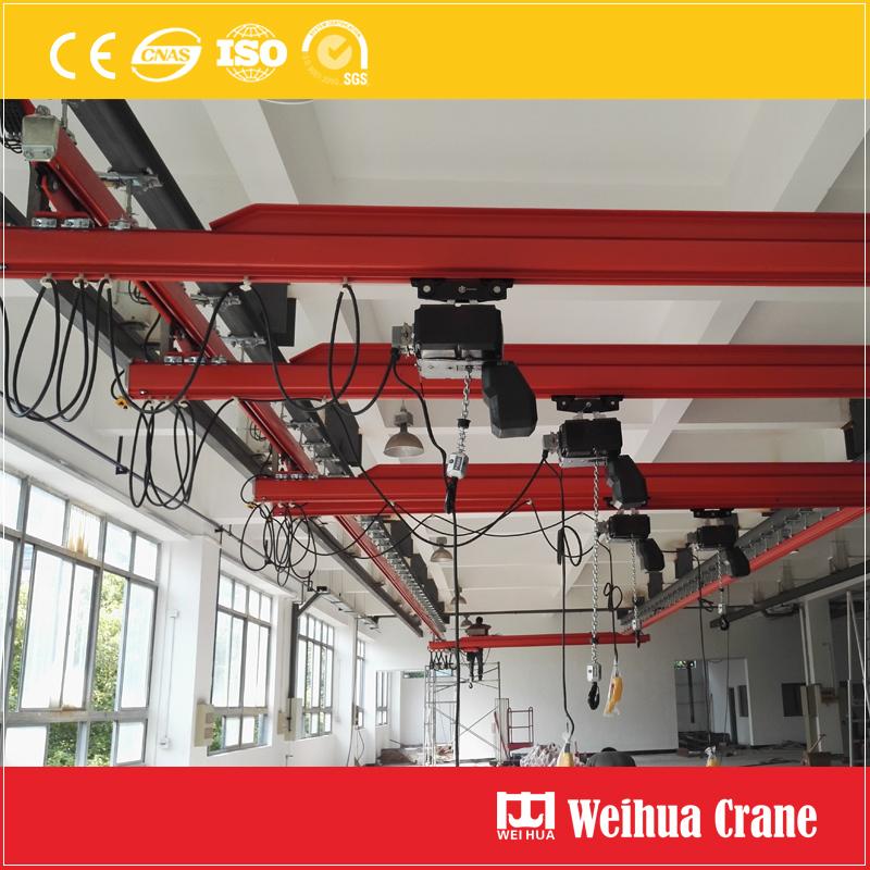 Circular-orbit-track-suspension-crane