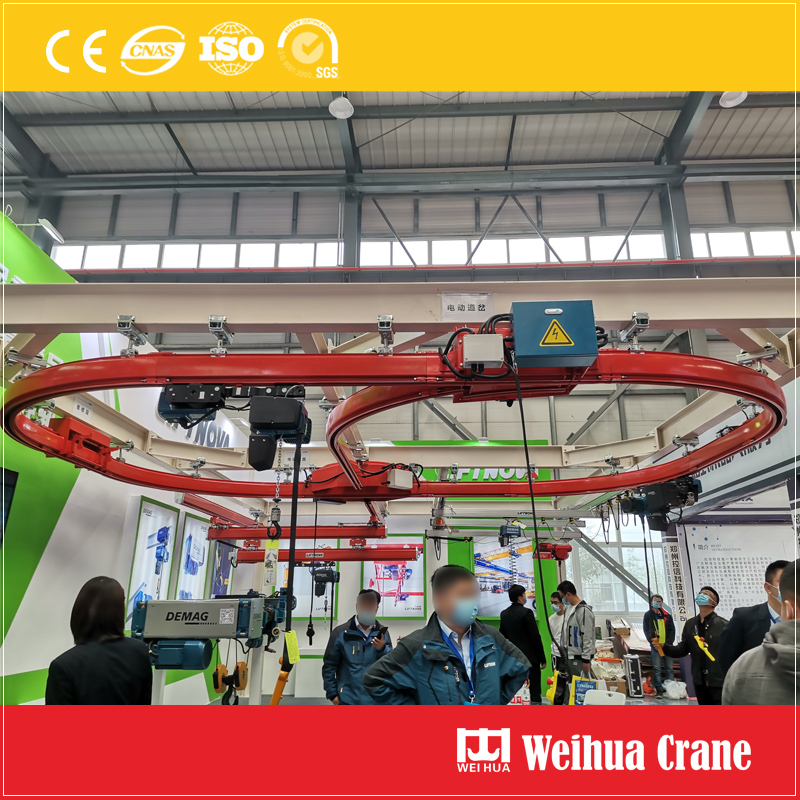 Circular-track-suspension-crane