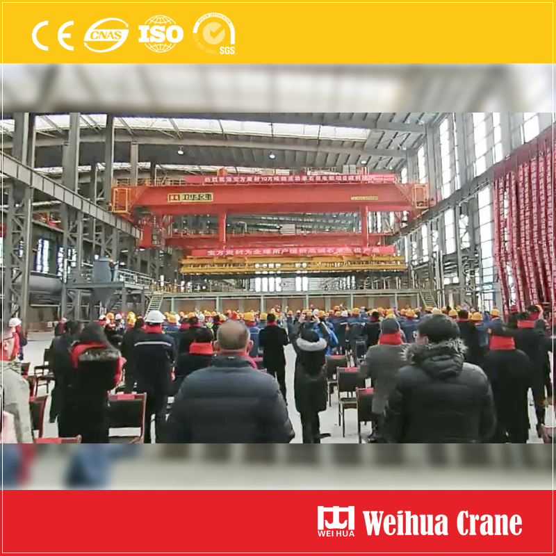 Graphite-electrode-handling-crane