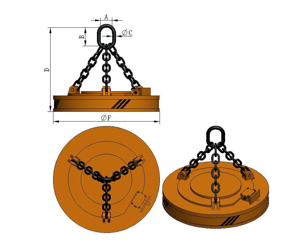 Lifting-electromagnet