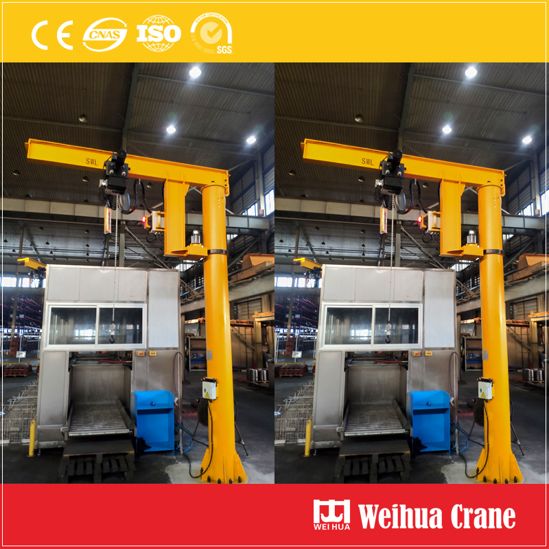 Pillar-Slewing-Jib-Crane
