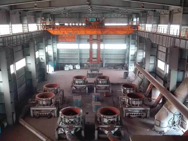 Precise-position-metallurgy-crane
