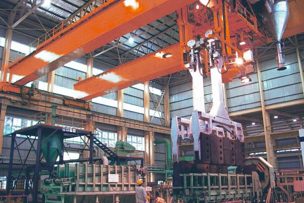 anode-carbon-roasting-crane