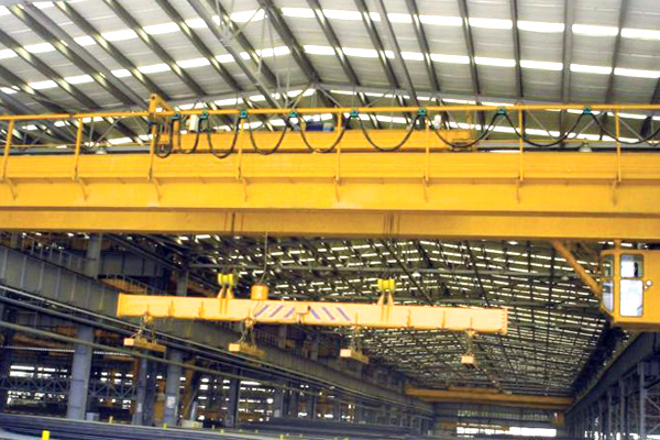 bridge-crane-electromagnetic-hoist
