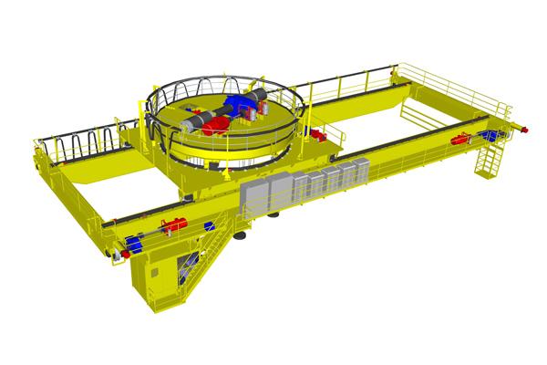 bridge-crane-electromagnetic-sling