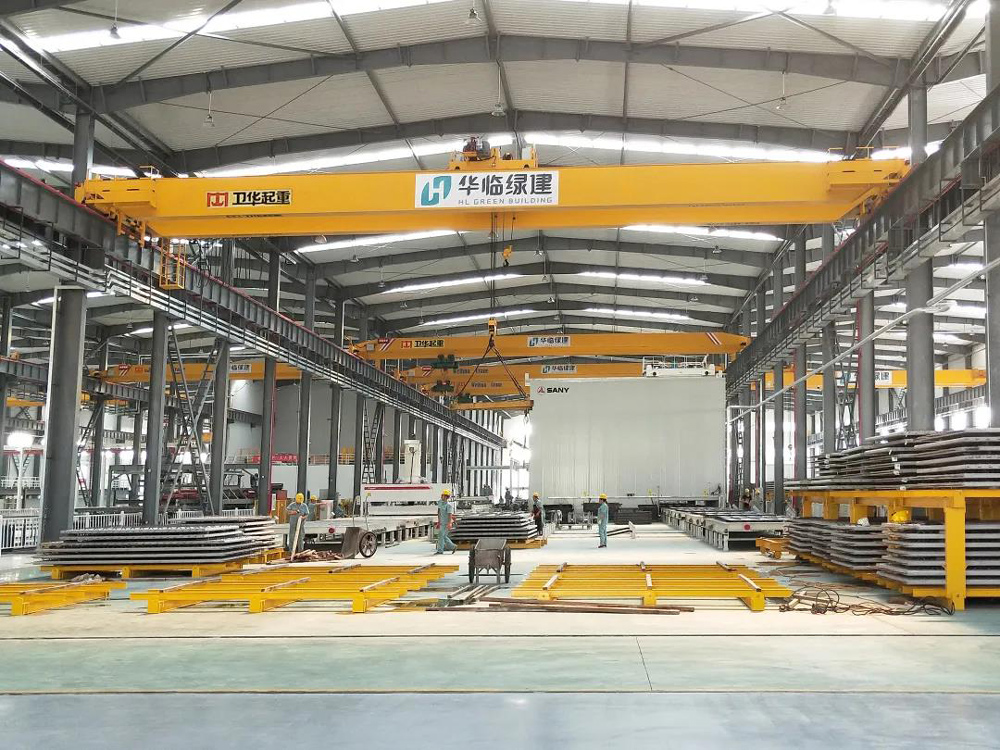 bridge-crane-for-green-building-company