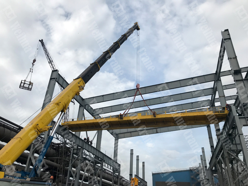 bridge-crane-installation-Ukraine