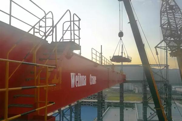 bridge-crane-installation