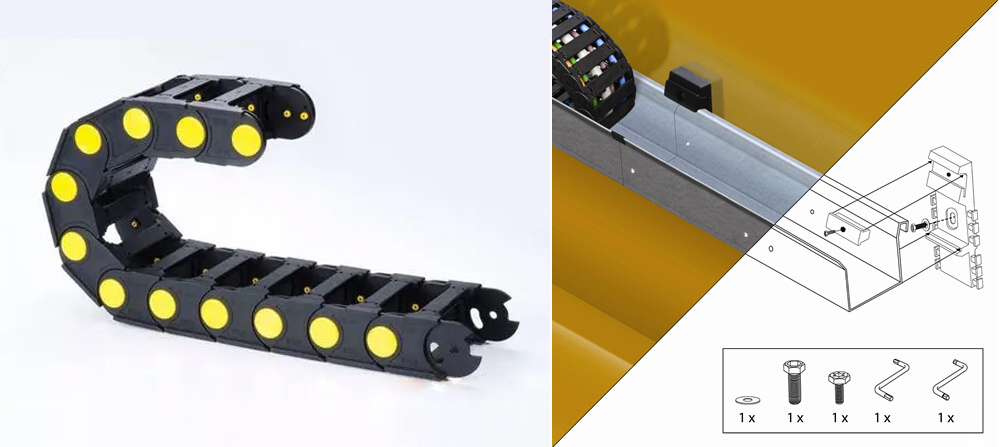 crane-cable-carrier-chain