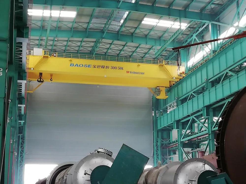 bridge-crane-for-Nonferrous-Metals-Company