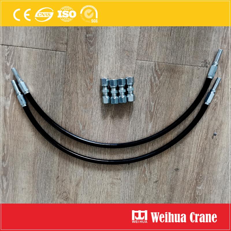 crane-wheels-Lubricating-oil-pipe