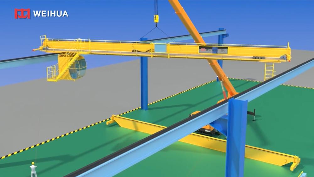 double-girder-bridge-crane-installation-guide