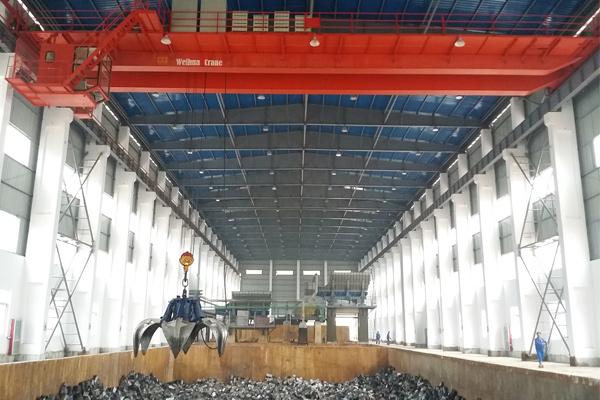 double-girder-bridge-crane-with-grab