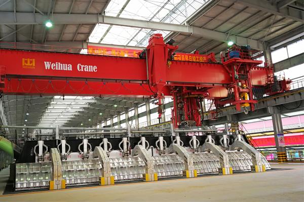 electrolytic-aluminum-bridge-crane
