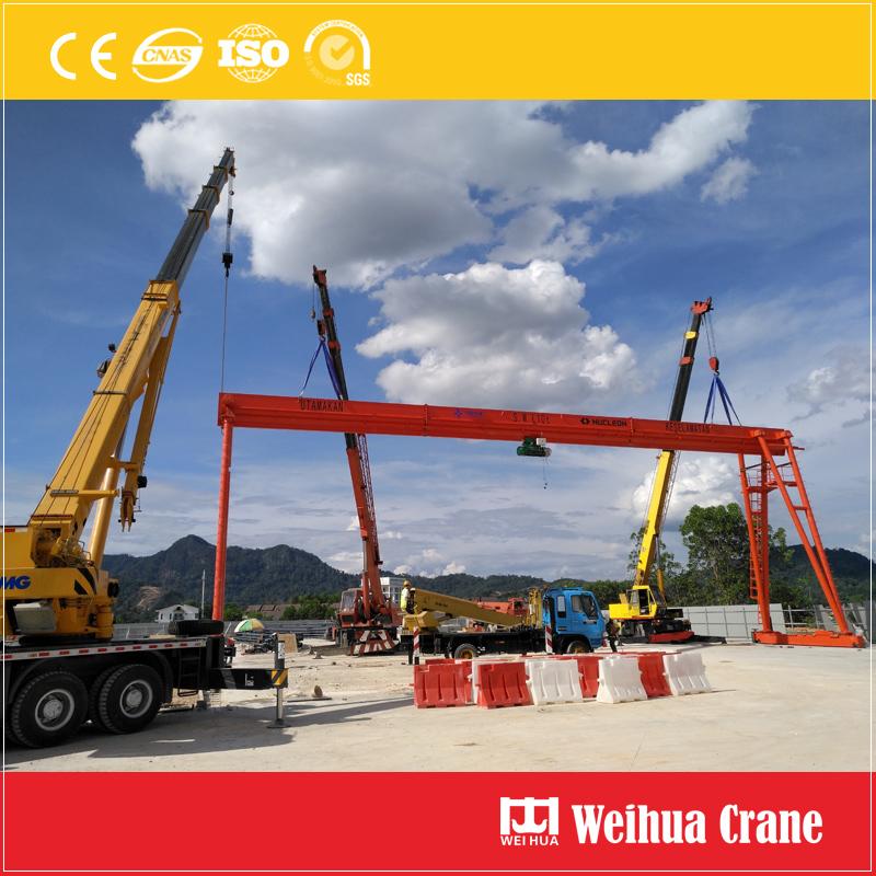 gantry-crane-installation