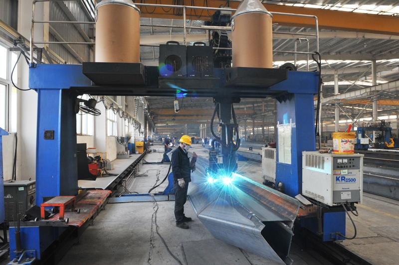 gantry-welding