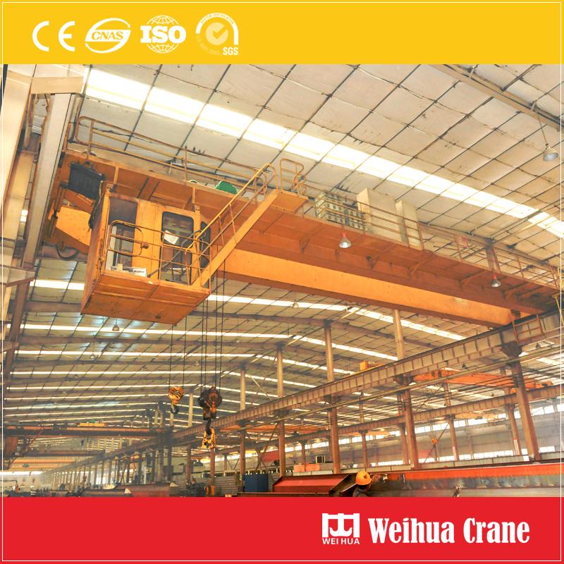 bridge-crane-with-crab-electric-hoists