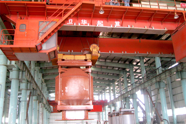 Nickel-industry-bridge-crane