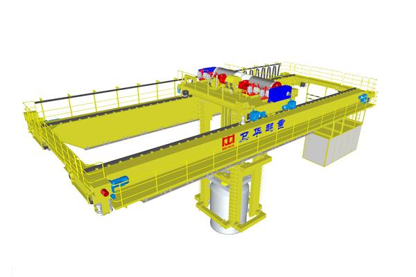 scrap-charging-bridge-crane