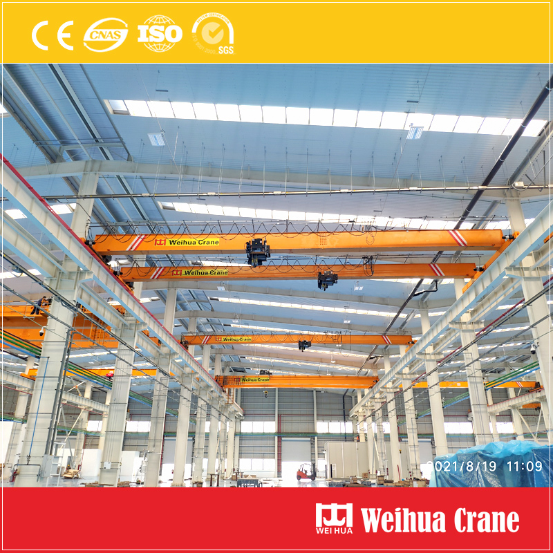 single-girder-bridge-crane-installation-Mexico