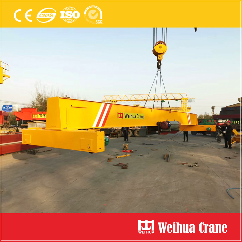 single-girder-bridge-crane-loading