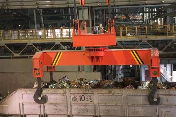 steel-material-trough-crane